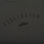 Мужская футболка Fjallraven Trekking Equipment Mountain Grey фото- 2