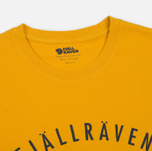 Мужская футболка Fjallraven Trekking Equipment Warm Yellow фото- 1