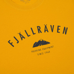 Мужская футболка Fjallraven Trekking Equipment Warm Yellow фото- 2