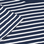 Мужская футболка Fred Perry Breton Stripe Carbon Blue фото- 3
