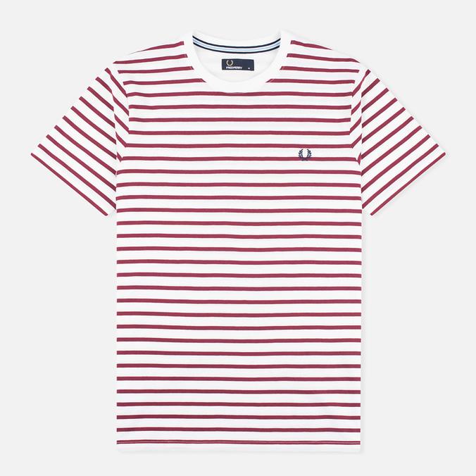 Мужская футболка Fred Perry Breton Stripe Porcelain