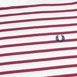 Мужская футболка Fred Perry Breton Stripe Porcelain фото- 2