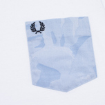 Fred Perry Camo Pocket Men's t-shirt White photo- 3