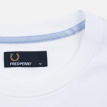 Fred Perry Camo Pocket Men's t-shirt White photo- 2