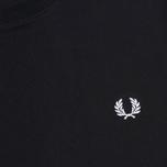 Мужская футболка Fred Perry Crew Neck Black фото- 2