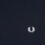 Мужская футболка Fred Perry Crew Neck Navy фото- 2