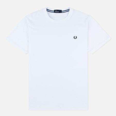 Мужская футболка Fred Perry Crew Neck White