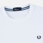 Fred Perry Crew Neck Men's T-shirt White photo- 1