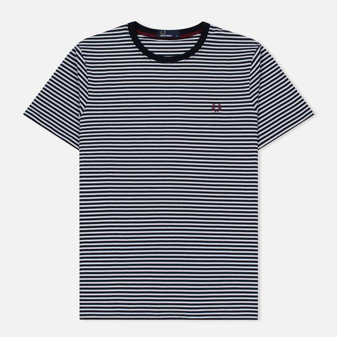 Мужская футболка Fred Perry Fine Stripe Navy