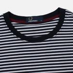 Мужская футболка Fred Perry Fine Stripe Navy фото- 1