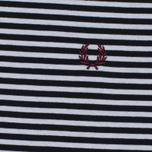 Мужская футболка Fred Perry Fine Stripe Navy фото- 2