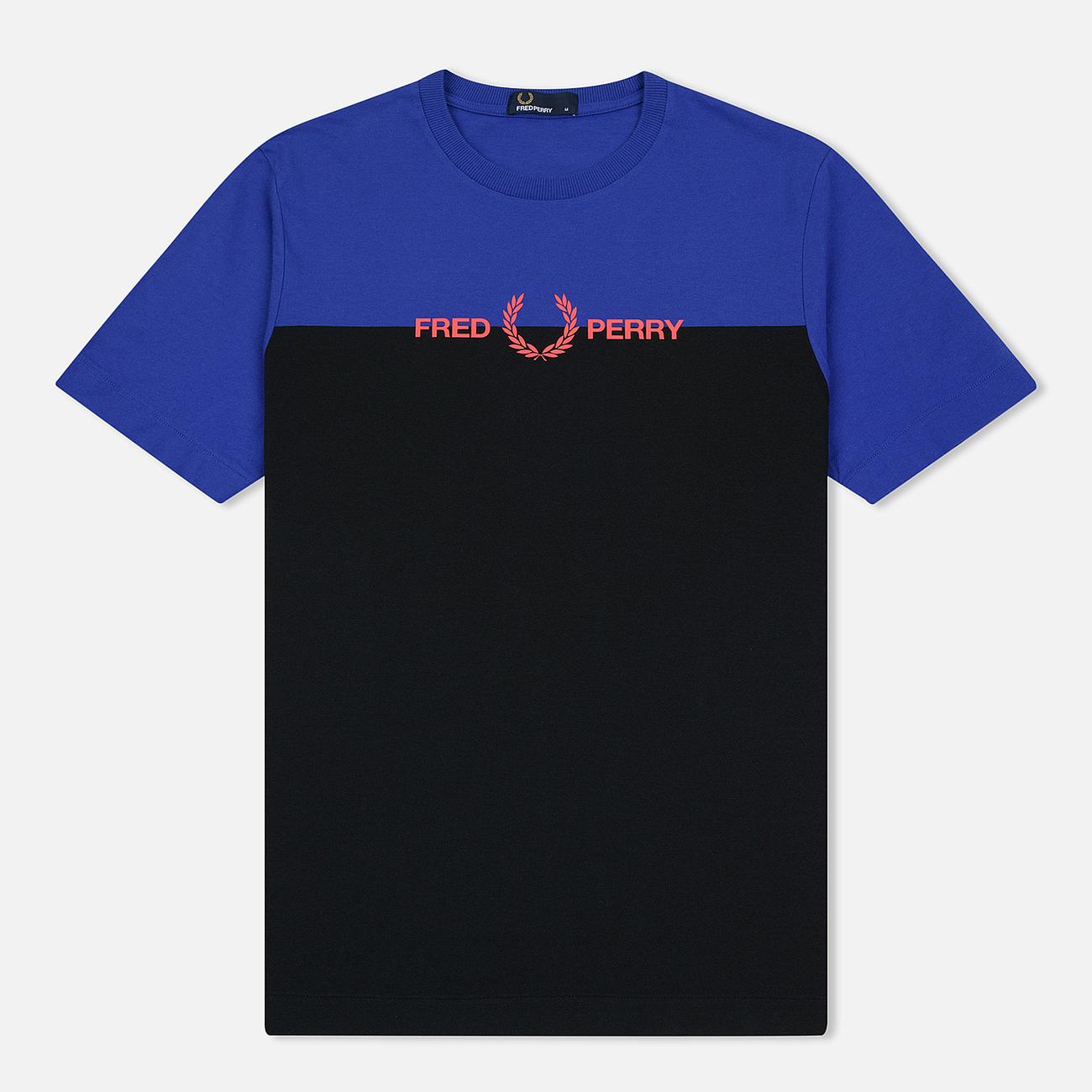 Мужская футболка Fred Perry Graphic Colour Rich Blue
