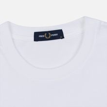 Мужская футболка Fred Perry Graphic White фото- 1