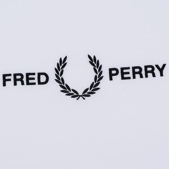 Мужская футболка Fred Perry Graphic White