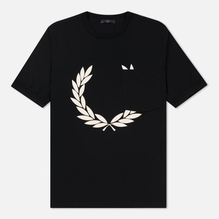 Мужская футболка Fred Perry Laurel Wreath Printed Black