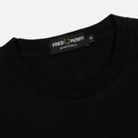 Мужская футболка Fred Perry Monochrome Tennis Black фото- 1