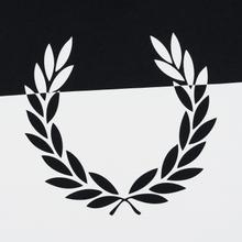 Мужская футболка Fred Perry Printed Laurel Wreath Black фото- 2