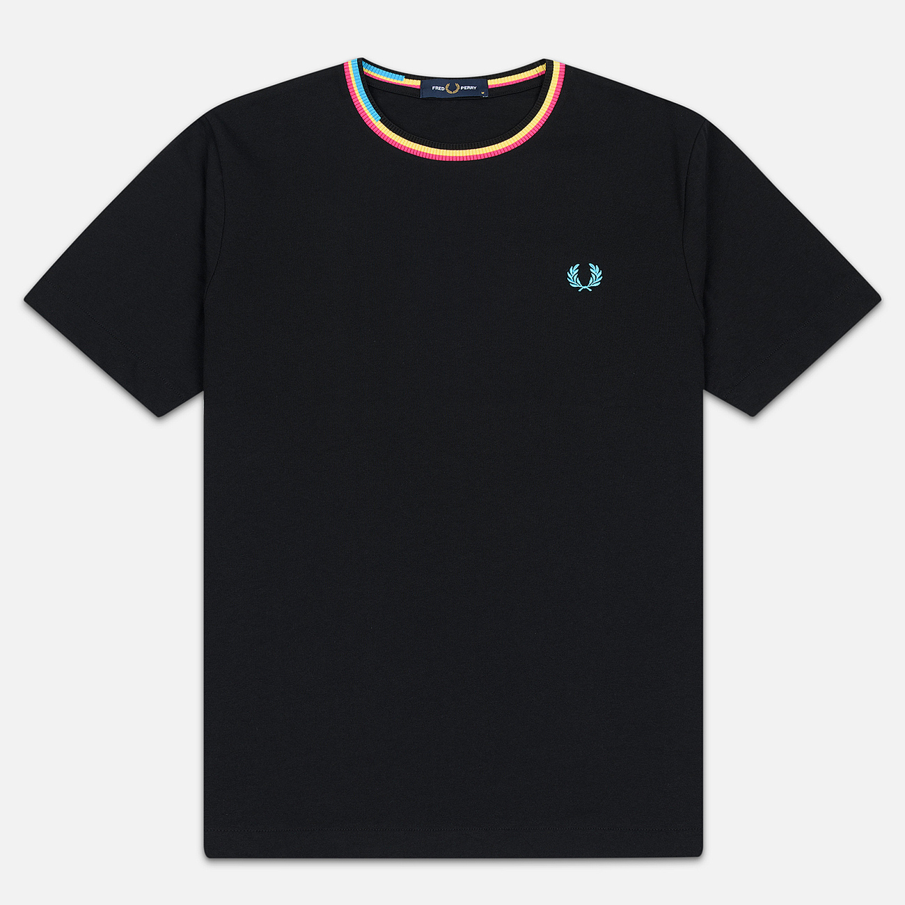 Мужская футболка Fred Perry Process Colour Black