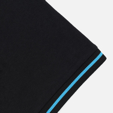 Мужская футболка Fred Perry Process Colour Branded Black фото- 3