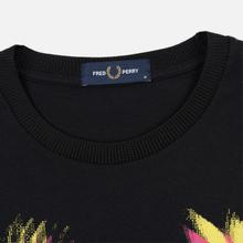 Мужская футболка Fred Perry Process Colour Branded Black фото- 1