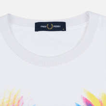 Мужская футболка Fred Perry Process Colour Branded White фото- 1