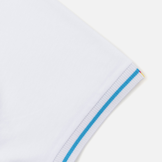 Мужская футболка Fred Perry Process Colour Branded White