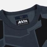 Мужская футболка Fred Perry Ringer Arktis Airforce Camo фото- 1