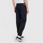 Мужские брюки Carhartt WIP Marshall Jogger 6.5 Oz Black Rinsed фото- 7