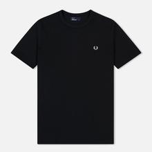 Мужская футболка Fred Perry Ringer Black/Black фото- 0