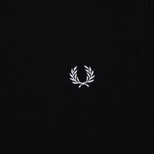 Мужская футболка Fred Perry Ringer Black/Black фото- 2