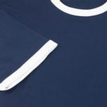 Мужская футболка Fred Perry Ringer Carbon Blue фото- 3