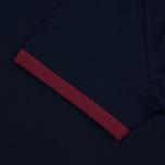 Мужская футболка Fred Perry Ringer Carbon Blue/Red фото- 3