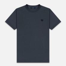 Мужская футболка Fred Perry Ringer Charcoal фото- 0