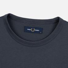 Мужская футболка Fred Perry Ringer Charcoal фото- 1