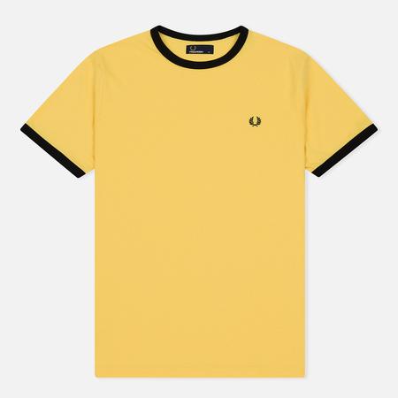 Мужская футболка Fred Perry Ringer Electric Yellow