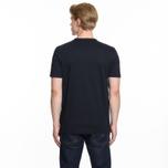 Мужская футболка Fred Perry Ringer Navy фото- 5