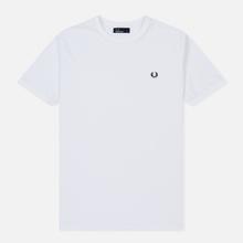Мужская футболка Fred Perry Ringer White/White фото- 0