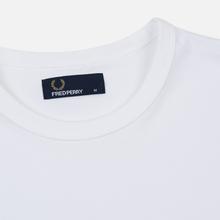 Мужская футболка Fred Perry Ringer White/White фото- 1