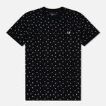 Мужская футболка Fred Perry Shadow Polka Dot Black фото- 0
