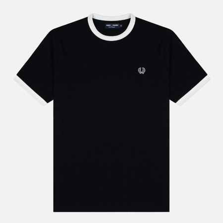 Fred Perry Sports Authentic Men's T-Shirt Ringer Black