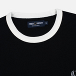 Мужская футболка Fred Perry Sports Authentic Ringer Black фото- 1