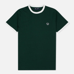 Мужская футболка Fred Perry Sports Authentic Ringer Ivy фото- 0