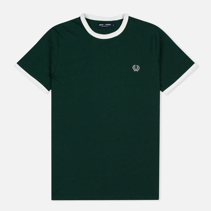 Мужская футболка Fred Perry Sports Authentic Ringer Ivy