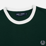 Мужская футболка Fred Perry Sports Authentic Ringer Ivy фото- 1