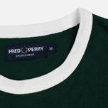 Мужская футболка Fred Perry Sports Authentic Ringer Ivy фото- 2
