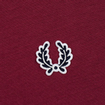 Мужская футболка Fred Perry Sports Authentic Ringer Maroon фото- 3