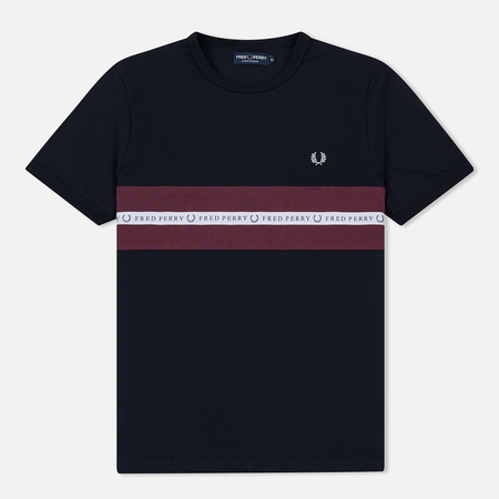 Мужская футболка Fred Perry Sports Tape Navy