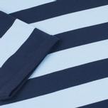 Мужская футболка Fred Perry Stripe Ringer Carbon Blue фото- 3