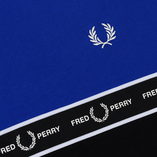 Мужская футболка Fred Perry Taped Chest Bright Regal