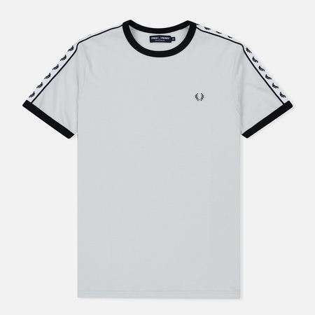 Мужская футболка Fred Perry Taped Ringer Blue Hint